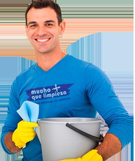 Empleado servicio de limpieza